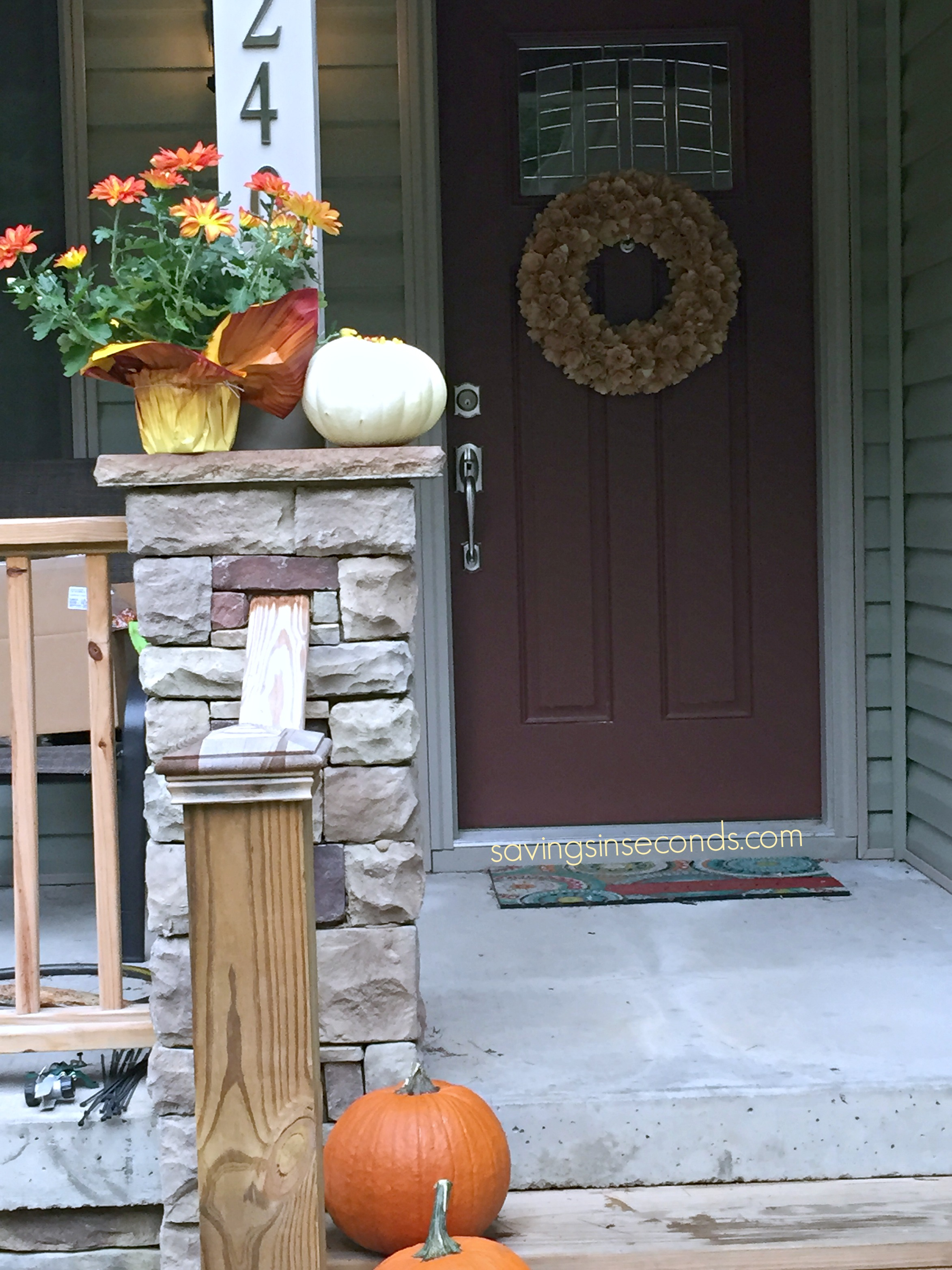 Decorate with candy this fall! #SweetworksAutumn #giveaway #ad savingsinseconds.com