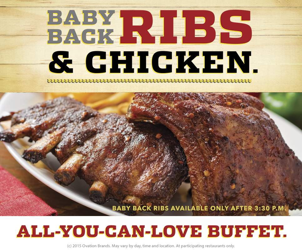 Ribs at Ryan's - savingsinseconds.com #giveaeway