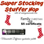 Super Stocking Stuffer Hop featuring Measurable Difference eyeshadow + Family Christian certificate