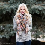 Great deal on this year's hot trend – the blanket scarf