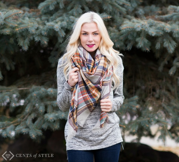 Blanket scarf for just $15.95 + FREE shipping - awesome Christmas gift. code is BLANKETGIFT #affiliate savingsinseconds.com