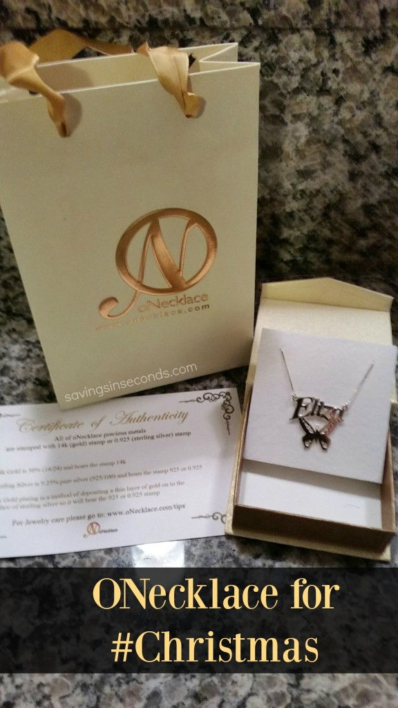 Beautiful jewelry from Onecklace.com makes a fabulous gift #ad savingsinseconds.com
