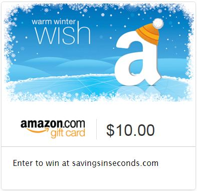 Snowed In Amazon giveaway - enter at savingsinseconds.com