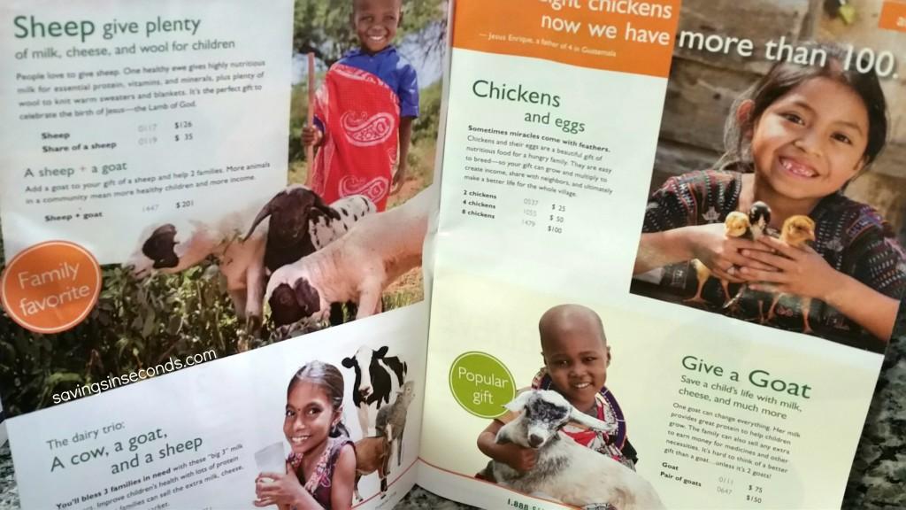 World Vision changes gift giving #SantasComing #giveaway - savingsinseconds.com