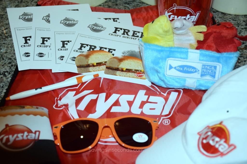 Krystal #giveaway at savingsinseconds.com