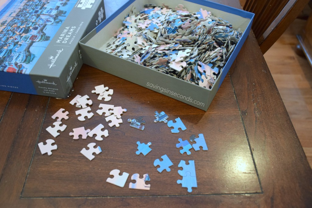 Snow Day Puzzle Fun #LoveHallmark #giveaway at savingsinseconds.com