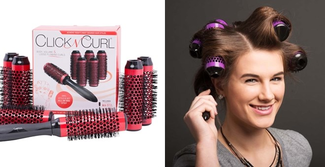 Click N Curl set only $21! #affiliate Featured on savingsinseconds.com/hooray