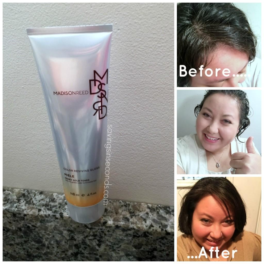 Color reviving hair gloss - savingsinseconds.com review