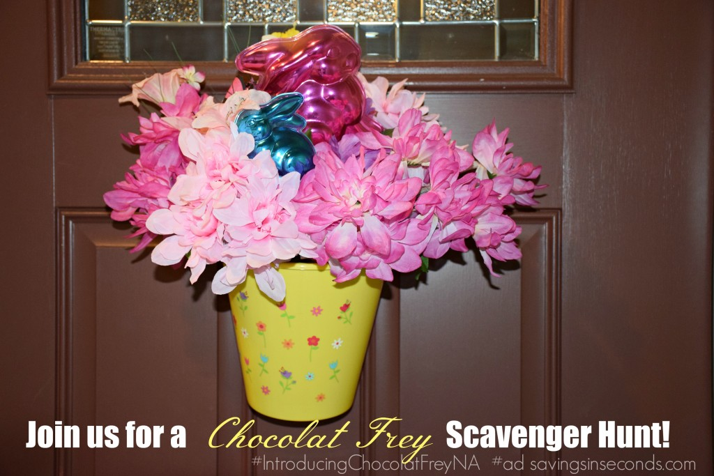 Join us for a Chocolat Frey Scavenger Hunt! #ad #IntroducingChocolatFreyNA savingsinseconds.com #Giveaway