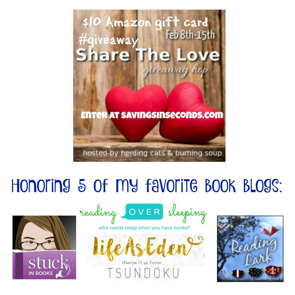 Share the Love blog hop #giveaway - enter to win a $10 Amazon gift card