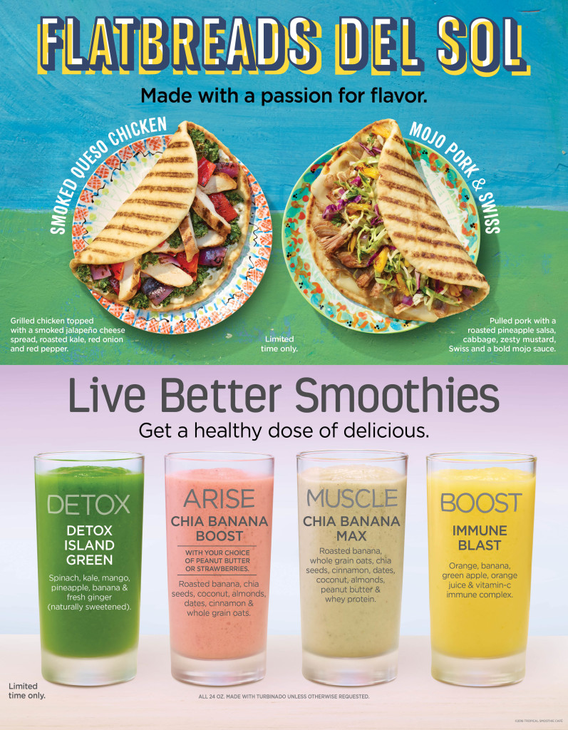 Tropical Smoothie King giveaway - #BeWell at savingsinseconds.com