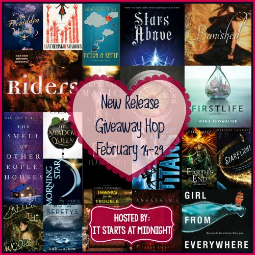 February 2016 New Release Giveaway Hop - enter to win at savingsinseconds.com