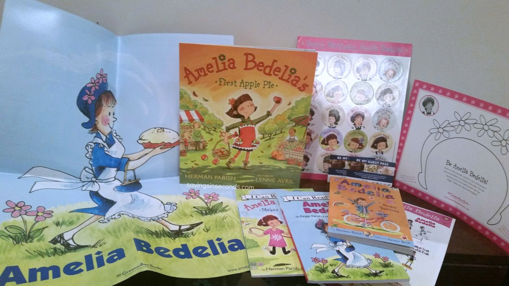 Amelia Bedelia #giveaway - enter at savingsinseconds.com