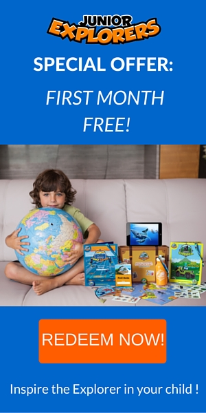First Month Free - Junior Explorers