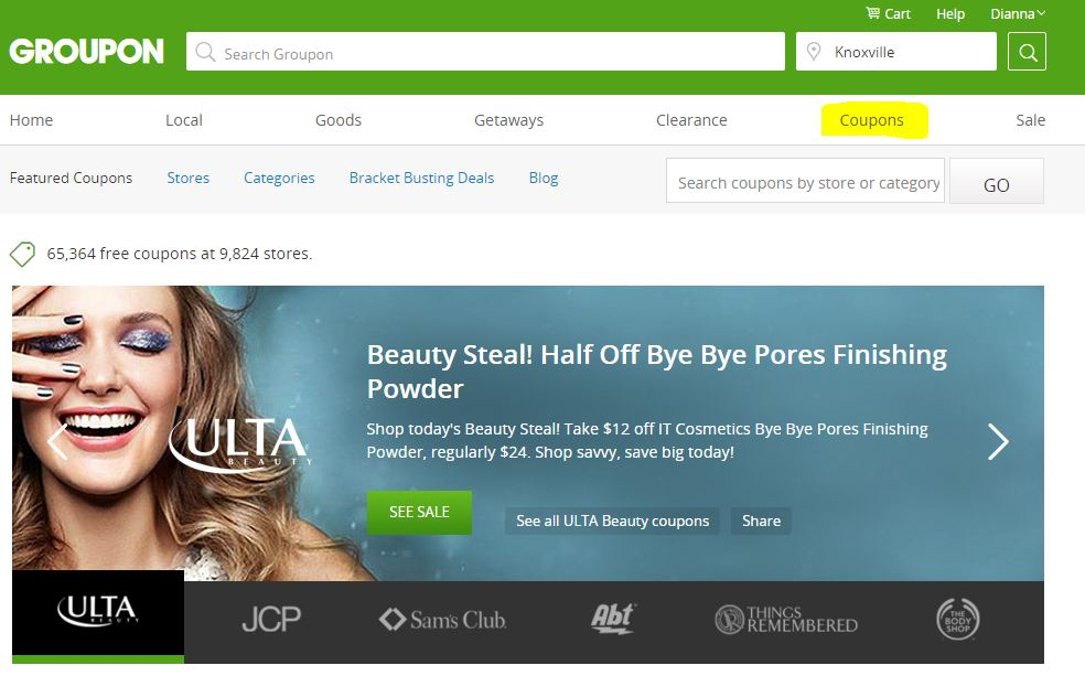 Groupon coupons make it even easier to save money - savingsinseconds.com