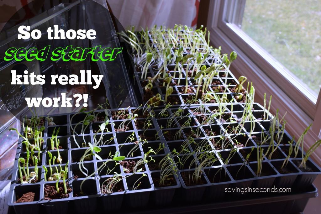 Seed starter kits - savingsinseconds.com