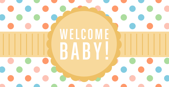 Welcome Baby! $25 Amazon giveaway - savingsinseconds.com