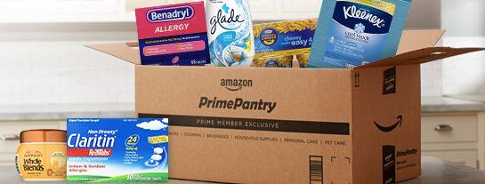 Prime pantry box #giveaway - savingsinseconds.com