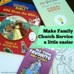 Make Family Church Service a Little Bit Easier With An Activity Bag