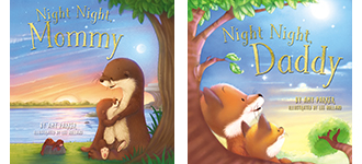Night Night Mommy and Daddy #giveaway at savingsinseconds.com