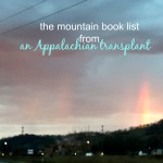 An Appalachian transplant's list of books