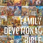 ESV Family Bible review #ESVFamilyDevotionalBible #flyby