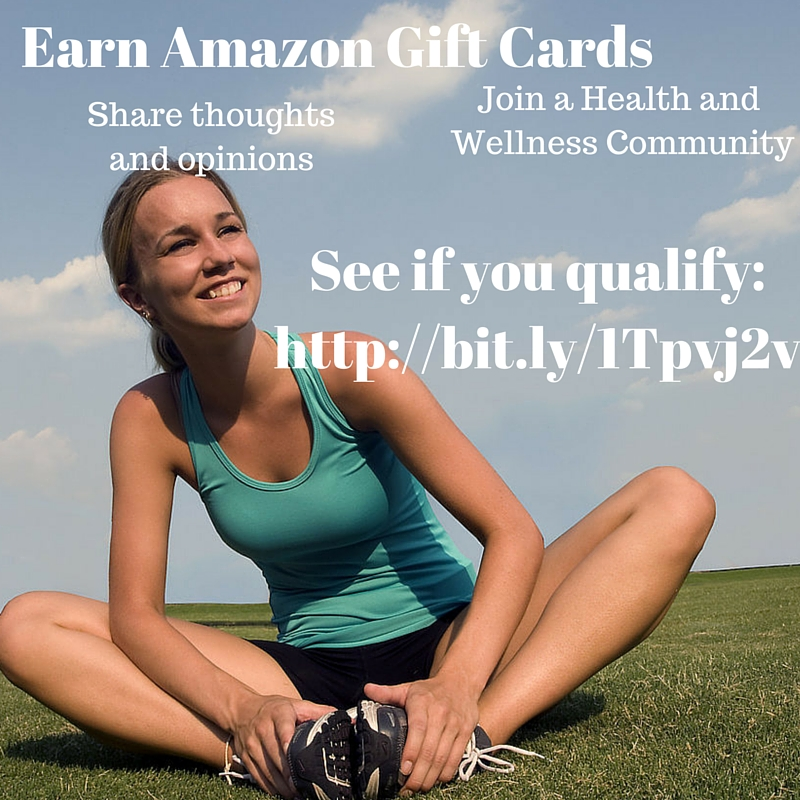 Earn Amazon Gift Cards - see if you qualify! #ad Find out more at savingsinseconds.com