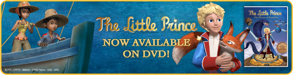 The Little Prince DVD #giveaway