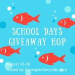 School Days Giveaway Hop Signups – August 16-30