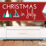 It's the Cricut Christmas in July sale – make a list and check it twice