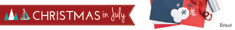 Cricut Christmas in July sale - find out more at savingsinseconds.com