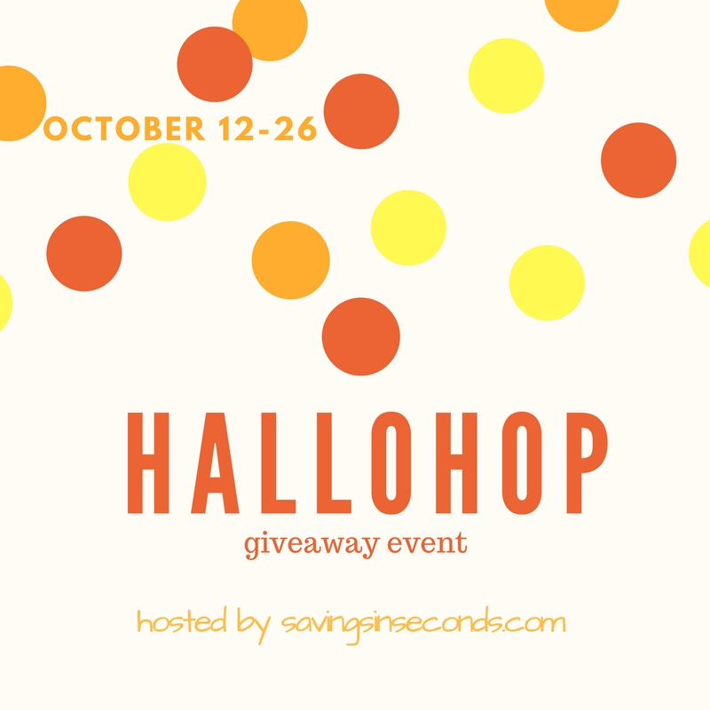 #Hallohop giveaway sign ups open - join us! savingsinseconds.com