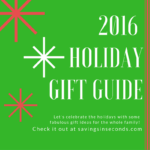 2016 Holiday Gift Guide accepting submissions