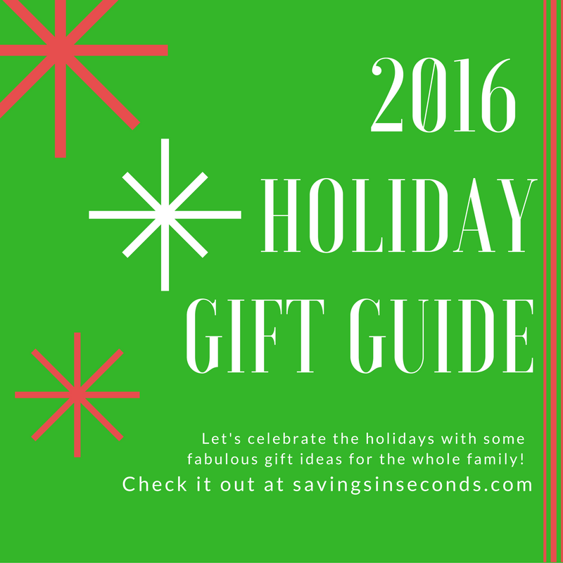 2016 Holiday Gift Guide - savingsinseconds.com
