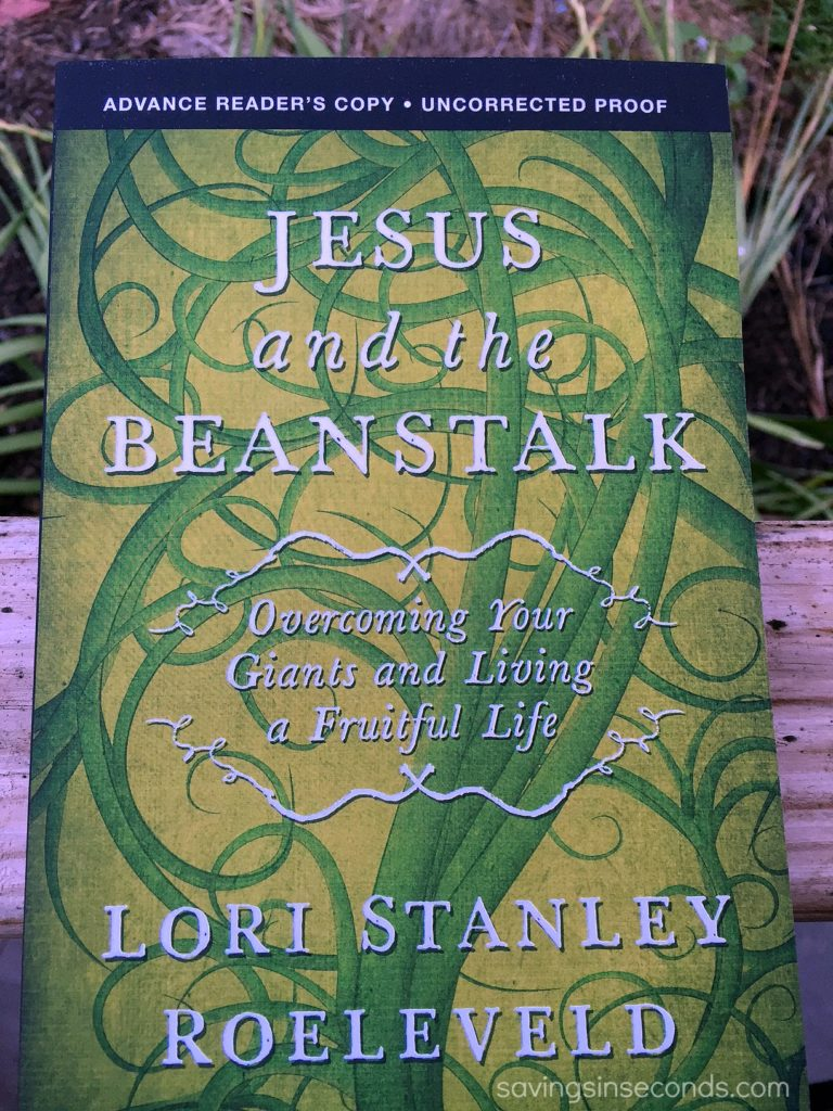 Jesus and the Beanstalk - book review at savingsinseconds.com