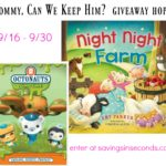 Fall entertainment with Night Night Farm and Octonauts Slime Time