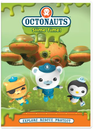 Octonauts Slime Time DVD  #giveaway - enter at savingsinseconds.com