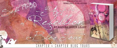 Art of Rebellion blog tour