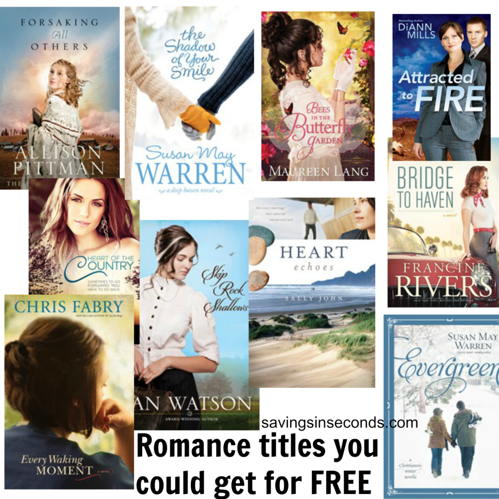 Free Romance Novels! Find out how - savingsinseconds.com