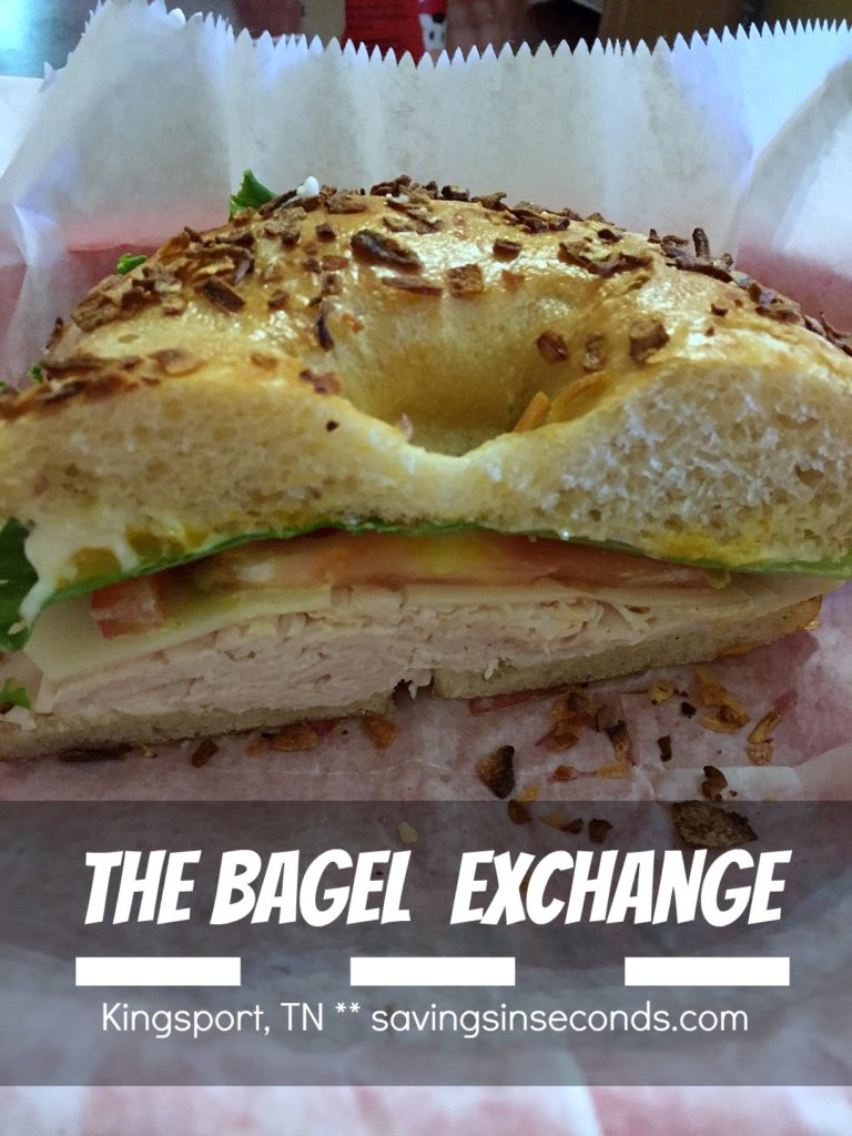 The Bagel Exchange - Kingsport, TN featured on savingsinseconds.com
