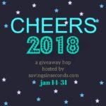 Cheers 2018 Giveaway Hop – signups open!  Jan 14-31