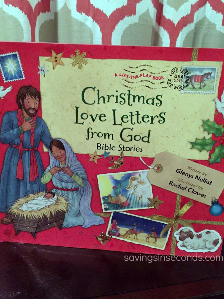 Christmas Love Letters from God #Giveaway - enter at savingsinseconds.com