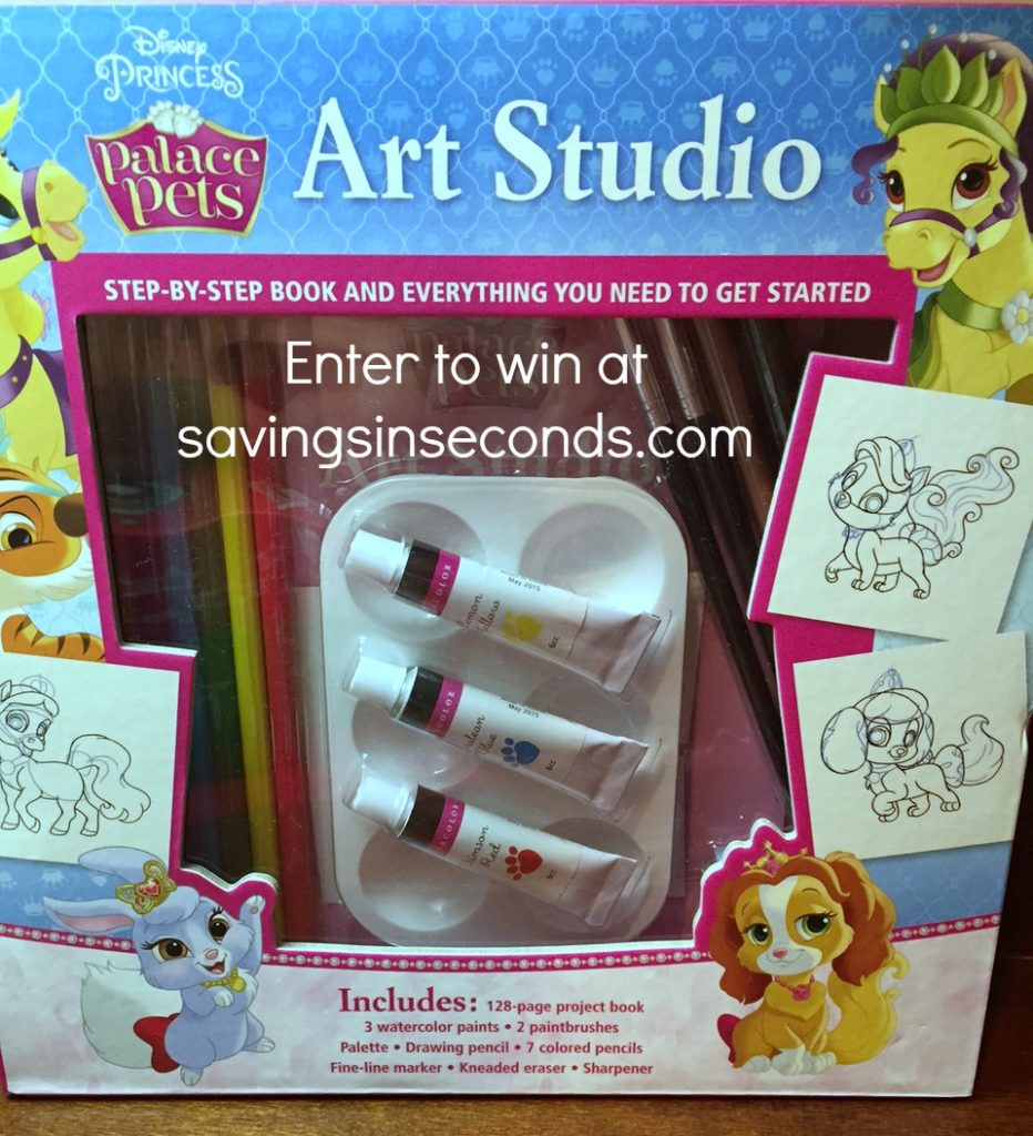 Enter the #TurkeyDay16 #giveaway for a chance to #win the Disney Art Studio! Savingsinseconds.com