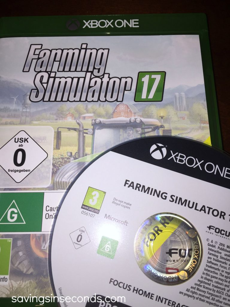 Enter to win a copy of Farming Simulator 17 from @MaximumGames #giveaway  #GraciousHop - enter at savingsinseconds.com