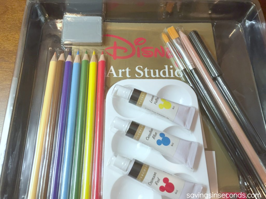 Enter to win the Disney Art Studio - savingsinseconds.com #giveaway