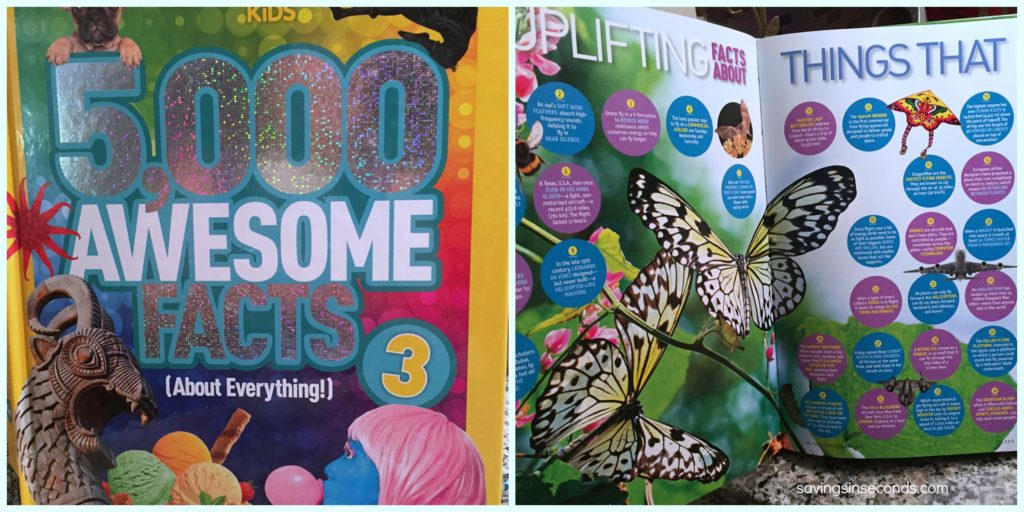 5000 Awesome Facts - National Geographic Kids #giveaway