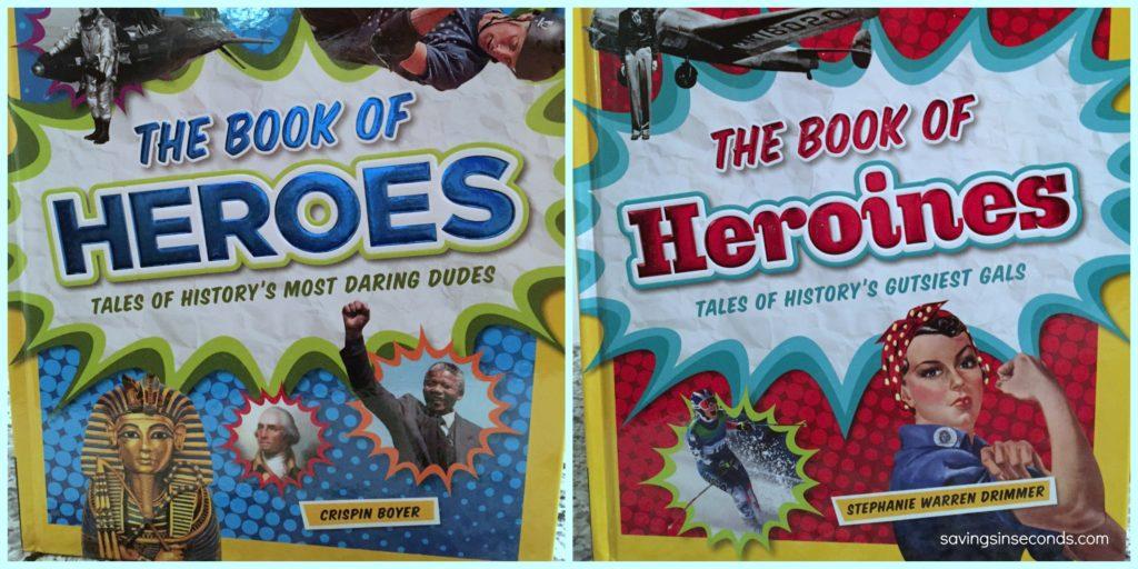 Book of Heroes + Heroines #giveaway