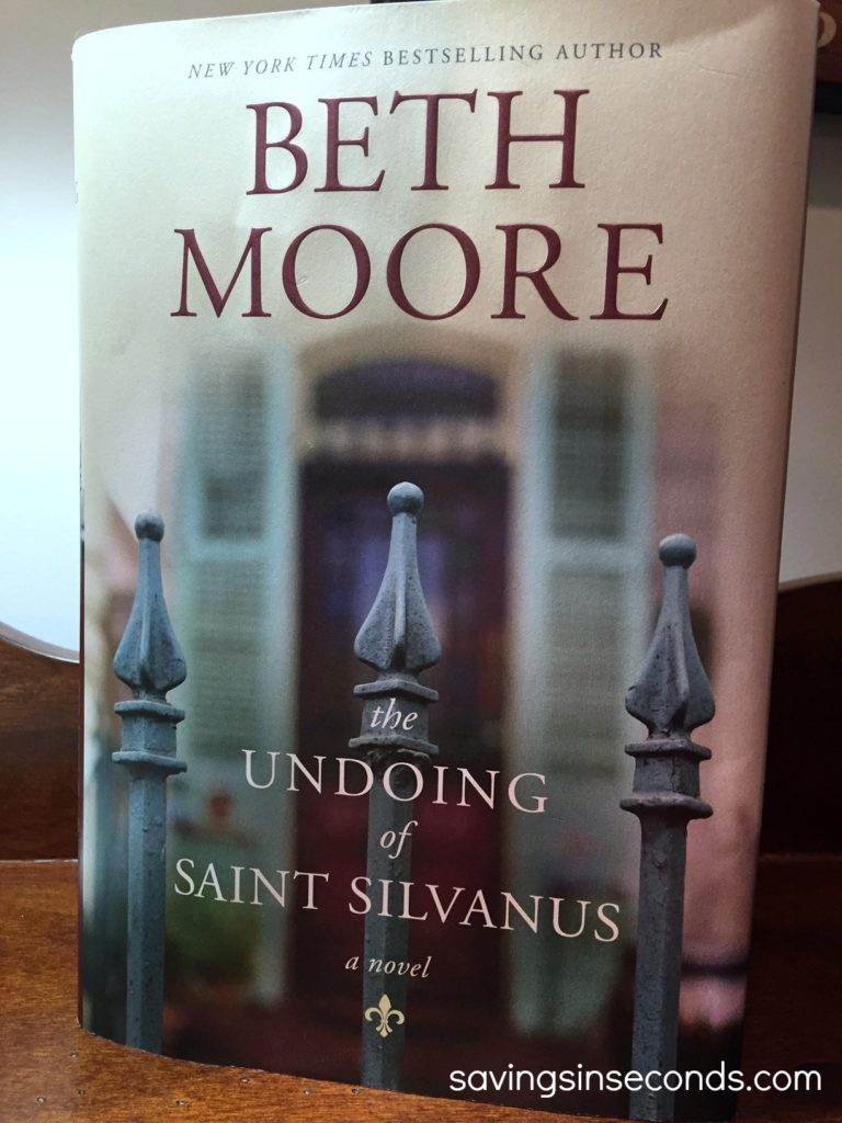 The Undoing of Saint Silvanus by Beth Moore - reviewed at savingsinseconds.com