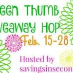 Green Thumb 2018 Giveaway Hop #signups open #Blogger