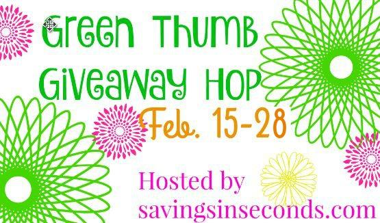 Green Thumb #giveaway hop signups open